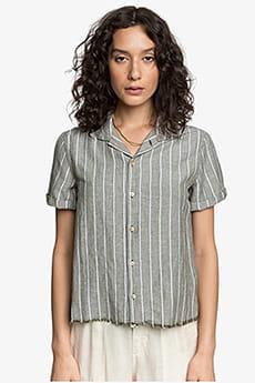 Женская льняная рубашка с коротким рукавом Womens Quiksilver
