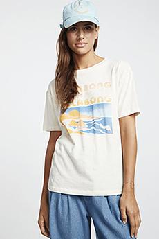 Белый футболка coast line
