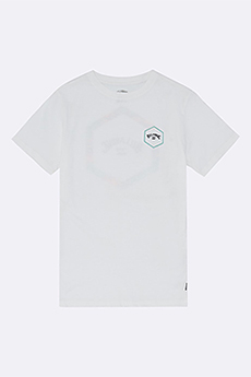Футболка детская Billabong Access Ss Tee Boy White