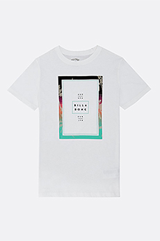 Футболка детская Billabong Tucked Ss Tee Boy White