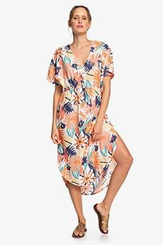 Персиковый женское платье flamingo shades