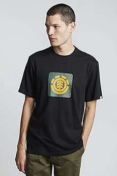 Мужская футболка с короткими рукавами Leopard Block Icon