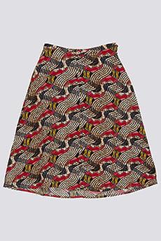 Бордовый юбка midnight ray