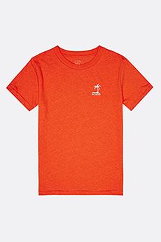 Персиковый футболка babe