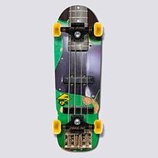 "Скейтборд в сборе Bad Brains Green Monster 9.5"""