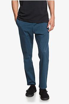 Коричневые мужские зауженные пляжные брюки beach pant