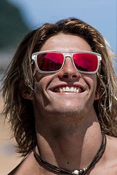 Белый мужские солнцезащитные очки the ferris