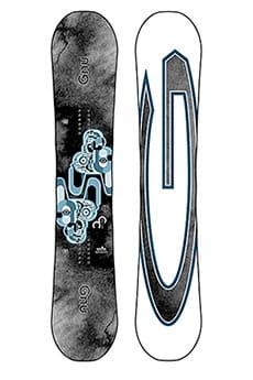 Оранжевый мужской сноуборд carbon credit