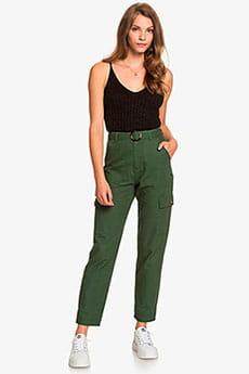 Зеленый женские брюки-карго sense yourself