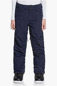 Оранжевый детские сноубордические штаны boundry 8-16