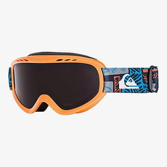 Оранжевый детская сноубордическая маска flake 2-7