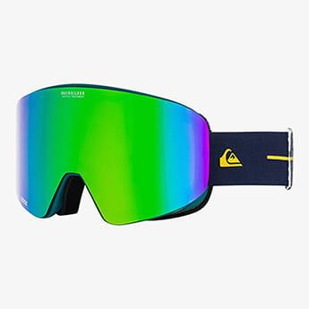 Зеленый сноубордическая маска qsrc