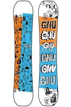 Оранжевый мужской сноуборд money