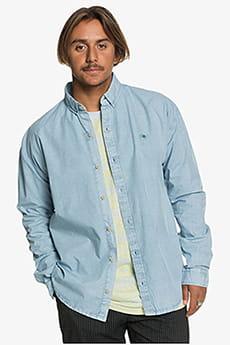 Голубой мужская рубашка с длинным рукавом originals peace