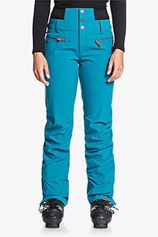 Голубой женские сноубордические штаны rising high