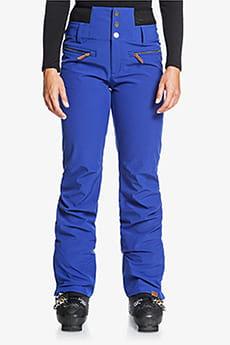 Бордовый женские сноубордические штаны rising high