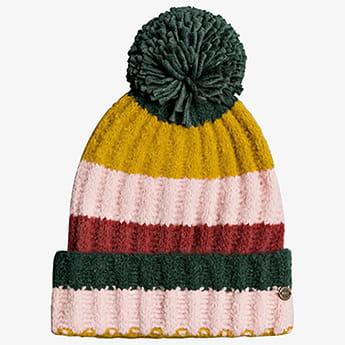 Женская шапка с помпоном Simple Story