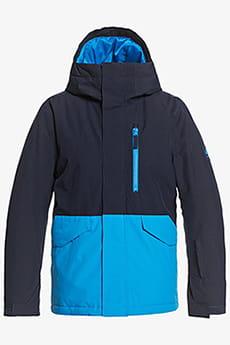 Оранжевый детская сноубордическая куртка mission solid 8-16