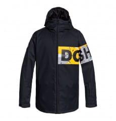 Черный мужская сноубордическая куртка propaganda