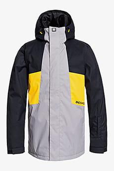 Серый мужская сноубордическая куртка defy