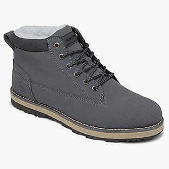 Бежевый мужские кожаные зимние ботинки mission v
