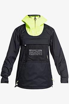 Черный мужской сноубордический анорак asap shell