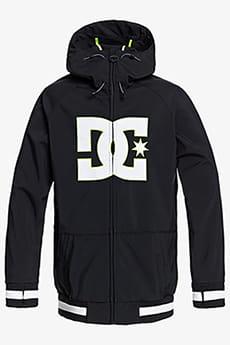 Черный мужская сноубордическая куртка spectrum shell