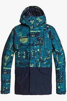 Мужская сноубордическая куртка Mission Printed Block