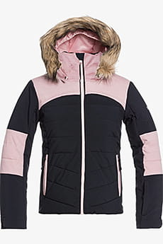 Черный детская сноубордическая куртка bamba girl 8-16