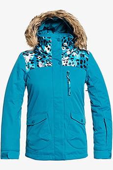 Черный детская сноубордическая куртка moonlight 8-16