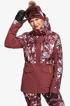 Персиковый женская сноубордическая куртка andie