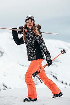 Персиковый женские сноубордические штаны summit