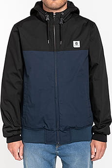 Черный водонепроницаемая мужская куртка wolfeboro dulcey two tones