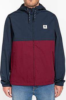 Бордовый водонепроницаемая мужская куртка wolfeboro alder two tones