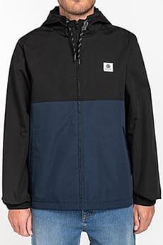 Черный водонепроницаемая мужская куртка wolfeboro alder two tones