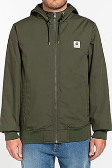Зеленый водонепроницаемая мужская куртка wolfeboro dulcey