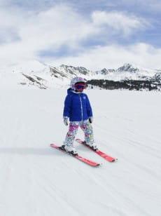Черный детская сноубордическая куртка anna 2-7