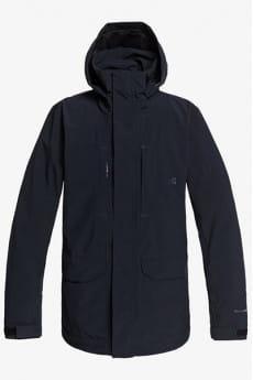 Черный мужская сноубордическая куртка command shell