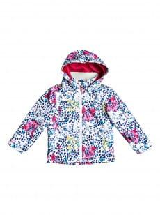 Мультиколор детская сноубордическая куртка mini jetty 2-7