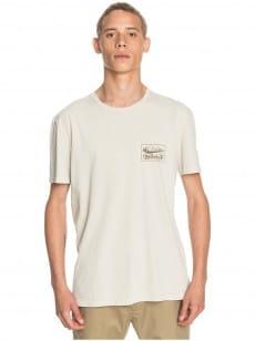 Белый мужская футболка old habit