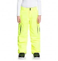 Бежевый детские сноубордическе штаны banshee 8-16