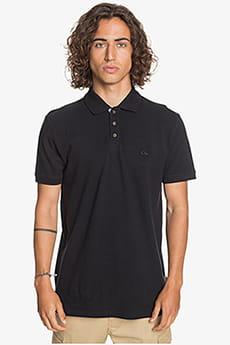 Черное мужская рубашка-поло loia polo