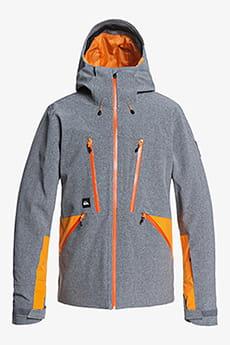 Черный мужская сноубордическая куртка stretch fjord