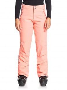 Бордовый женские сноубордические штаны montana