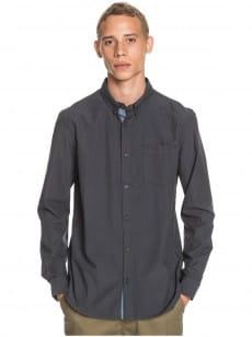 Серый мужская рубашка с длинным рукавом wilsden
