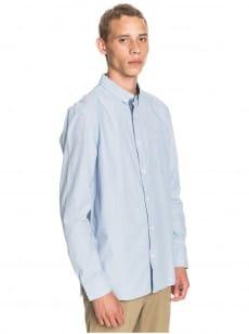 Голубой мужская рубашка с длинным рукавом wilsden
