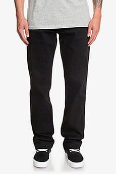 Коричневые мужские прямые джинсы aqua cult aged
