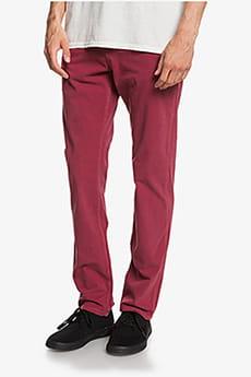 Красные мужские брюки-чинос krandy