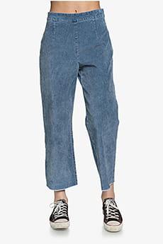 Серый женские вельветовые брюки с высокой талией womens
