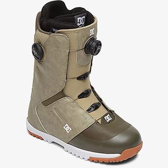 Коричневые мужские сноубордические ботинки control